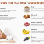 Foods that help to get a good night's sleep