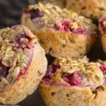 Oatmeal Orange Cranberry Muffin