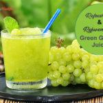 Refreshing & Rejuvenating Green Grapes Juice
