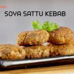 Soya Sattu Kebab