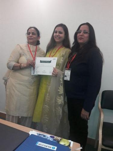 Certificates were awarded to all the participants