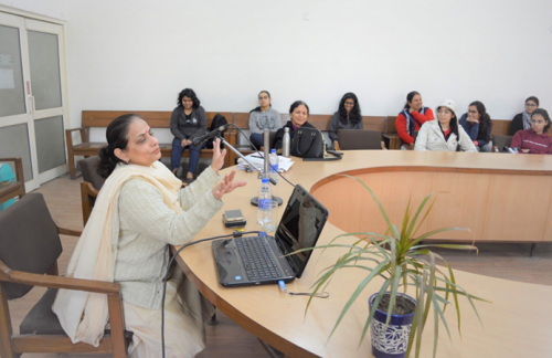 LSR college -talk on nutrition