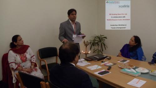 Mr Deepak from Xcelris labs