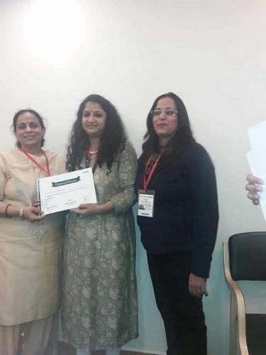 Participants with Certificates