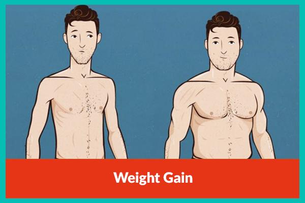 Weight Gain - Best Dietician in Delhi